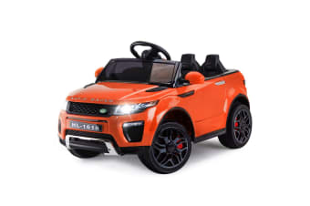 ROVO KIDS Ride-On Car Electric Battery Childrens Toy Powered Remote 12V Orange