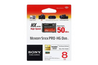 Sony Memory Stick Pro-HG Duo HX Rev.B 8GB 50M/s