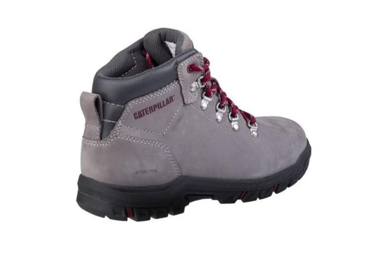 Caterpillar Womens/Ladies Mae Lace Up Safety Boot (Grey) (4)