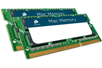 Corsair 8GB (2x4GB) DDR3 1066 SODIMM 1.5V Memory for MAC