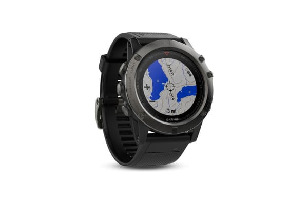 Garmin Fenix 5x Sapphire Edition Black with Black Band