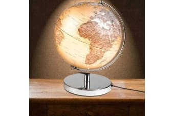 Gentlemen`s Hardware 25cm LED Executive World Globe Lamp Light