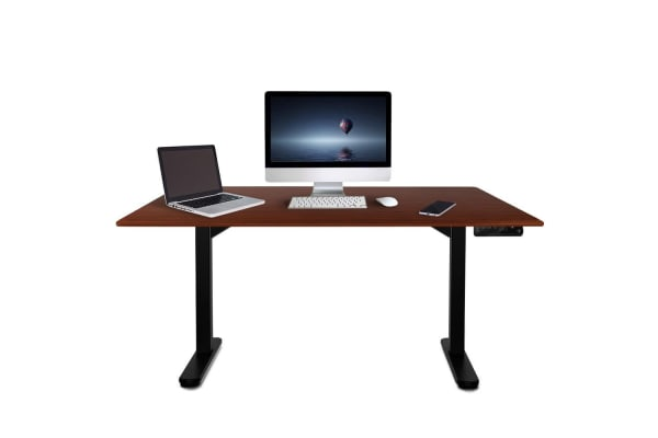 160cm Height Adjustable Standing Desk Electric Motorised Sit Stand Up Office WN