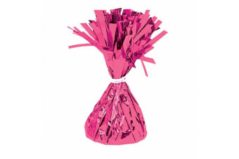 Amscan Foil Tassels Balloon Weights (Pack Of 12) (Magenta) (One Size)