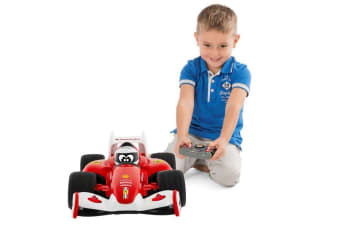 Chicco 23cm Ferrari Kids Toy Electric Race Car w/RC/Remote Control/Sounds 3y+