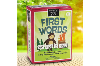 First Words Magnetic Poetry Kit