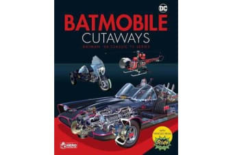 Batmobile Cutaways - The Classic Batman 1966 TV Series Plus Collectible