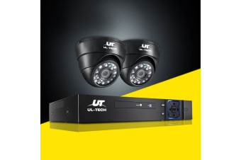 CCTV Camera Security System 4CH DVR HD 1080P Outdoor Kit Day Night