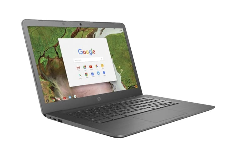 "HP 250 G7 14"" HD Chromebook Chrome OS Laptop (Intel Celeron, 4GB RAM, 32GB EMMC, Grey) - Certified Refurbished"