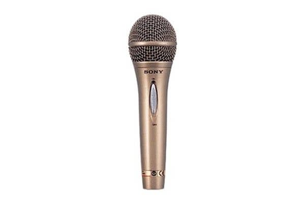 Sony Dynamic & Uni Directional Vocal Microphone - Gold (FV420)