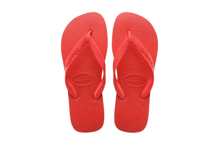 Havaianas Top Thongs (Ruby Red, Size 35/36 BR)