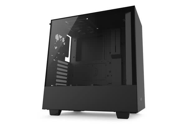NZXT H500 Compact ATX Mid Tower Case - Tempered Glass matte black