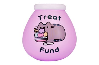 Pot Of Dreams Pusheen Pot Of Dreams Ceramic Money Pot (Pink) (One Size)