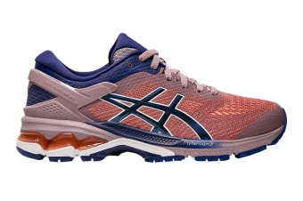 ASICS Women's Gel-Kayano 26 Running Shoe (Violet Blush/Dive Blue, Size  7.5 US)