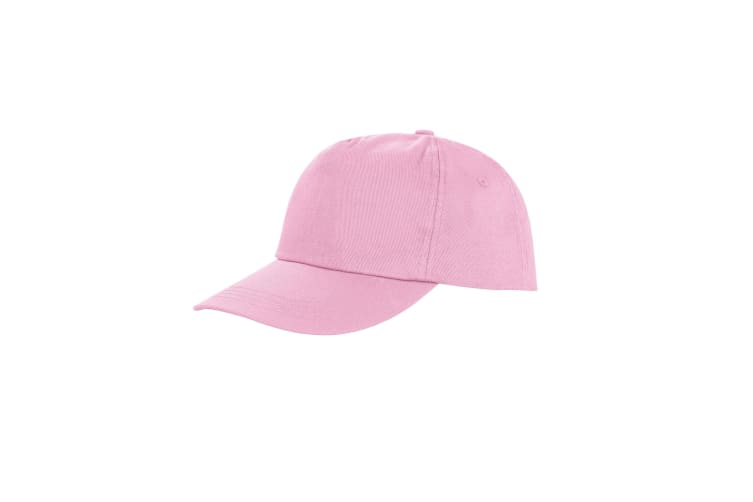 Result Unisex Core Houston 5 Panel Printers Baseball Cap (Pack of 2) (Pink) (One Size)