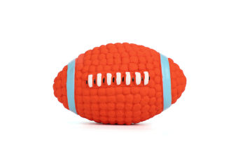 Voice Training Balls For Dog Teeth Cleaning Latex Toy Balls Rugby