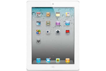 Used as demo Apple iPad 4 16GB Wifi + Cellular White (Local Warranty, 100% Genuine)