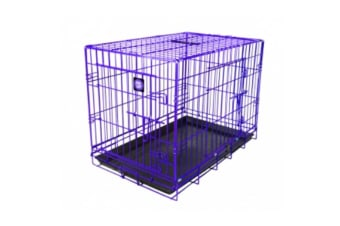 Dog Life Dog Crate (Purple) (60x43x50cm)