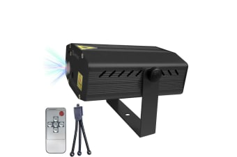 Sansai BK Indoor 3D Laser Light/Lights Projector/Party/Christmas/Xmas/Decoration