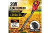 Cordless Rechargeable Leaf Blower Sweeper Cleaning Tool