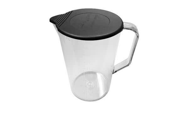 Bamix Beaker Jug w/ Handle and Lid 1L