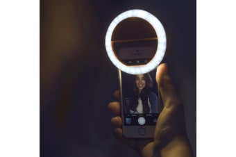 Smartphone Selfie LED Ring Light | Perfectly Lit Selfies Every Time!