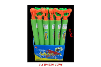 3 x Water Foam Shooter 54CM Gun w Handle Blaster Pistol Pool Pump High Power Kid