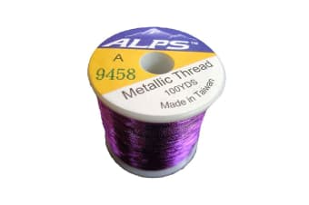 Alps 100yds of Metallic Light Purple Rod Wrapping Thread-Size A (0.15mm) Thread