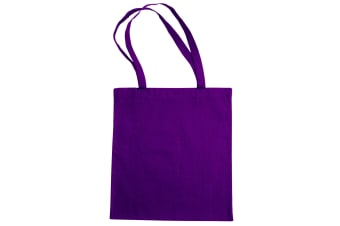 "Jassz Bags ""Beech"" Cotton Large Handle Shopping Bag / Tote (Lilac)"