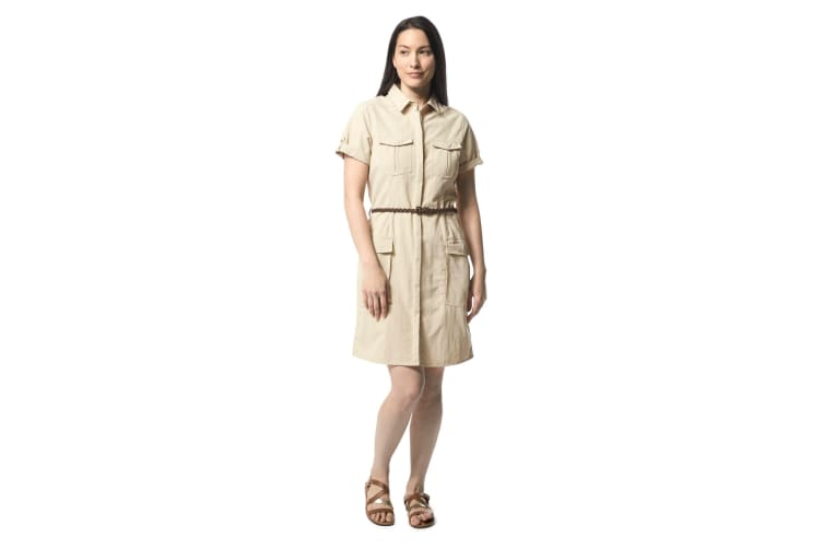 Craghoppers Womens/Ladies NosiLife Savannah Shirt Dress (Desert Sand) (8 UK)