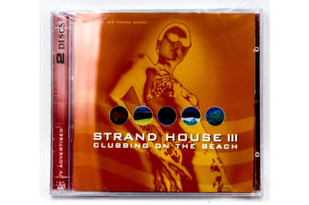 Hiver & Hammer [2 DISC] Strandhouse 3-Clubbing on the beach (mix) CD NEW SEALED