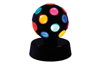 Rotating Party Disco Light Ball Lighting Home Room House Parties Night Club