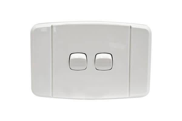 Arlec Dual Wall Light Switch