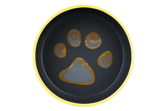 Trixie Ceramic Dog Bowl With Rubber Bottom - ASRTD (Assorted) (0.75 L)
