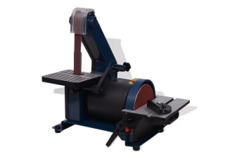 vidaXL Belt Disc Sander 300 W
