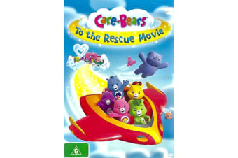 CARE-BEAR TO THE RESCUE MOVIE -Animated Rare- Aus Stock DVD NEW