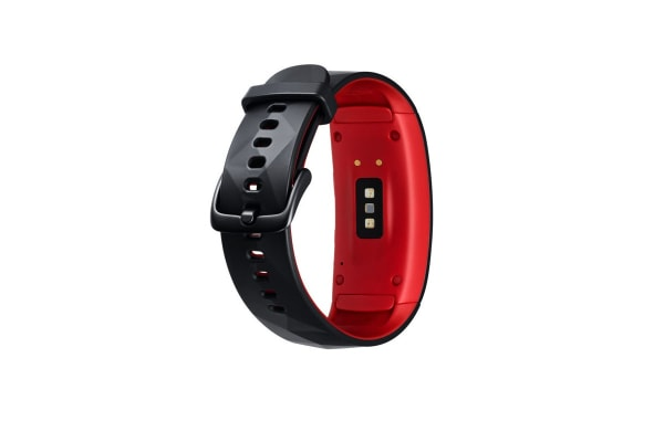 Samsung Gear Fit2 Pro (Small, Red)
