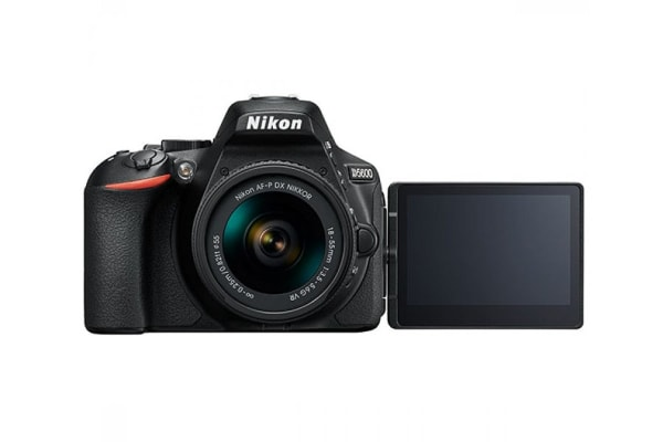 Nikon D5600 DSLR AF-P 18-55mm VR & 55-200mm VRII Twin Lens Kit