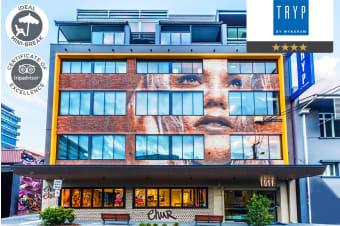 BRISBANE: 1 or 2 Nights at TRYP Fortitude Valley Hotel, QLD