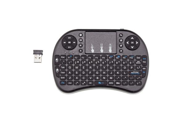 Wireless Media Centre Keyboard with Touchpad