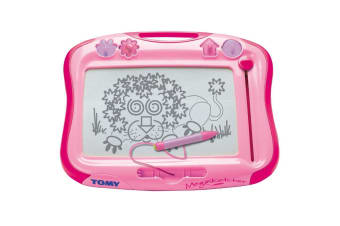 Tomy Megasketcher in Pink Magnetic Drawing Board