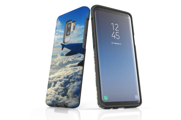 For Samsung Galaxy S9+ Plus Case Armour Cover  Clouds from the Plane