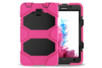 For Samsung Galaxy Tab A 8.0'' 2019 T290/T295 ShockProof Hybrid Tablet Case Cover-RoseRed