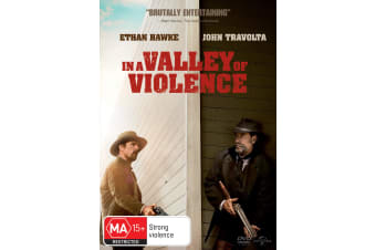 In a Valley of Violence DVD Region 4