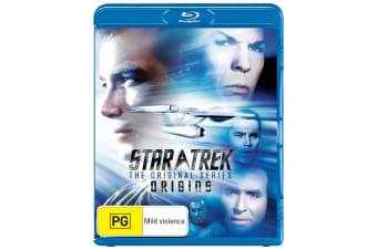 Star Trek the Original Series Origins Blu-ray Region B