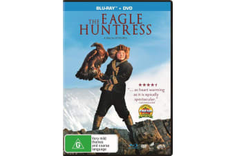 The Eagle Huntress with DVD Double Play Blu-ray Region 4