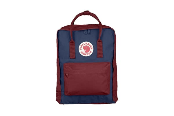 Fjallraven Kanken (Ox Red/Royal Blue)