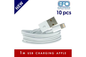 10 Pc 1M Usb Data Charge Cable Lightning Pin Connector For Apple Iphone Ipad 10X
