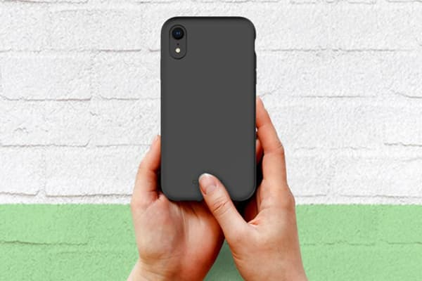 Cygnett Skin Soft Feel Case for iPhone XR - Black (CY2612CPSKI)