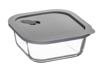 ClickClack Cook+ Square 800ml Grey